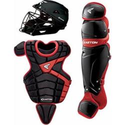Easton M10 Youth Custom Catchers Set, Black/Red