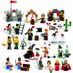 LEGO Education Fairytale and Historic Minifigures Set