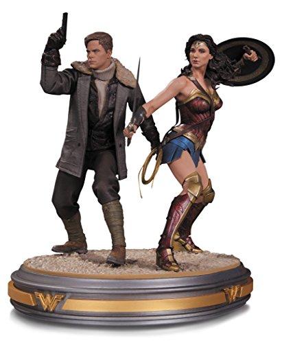 DC Collectibles Wonder Woman & Steve Trevor Statue
