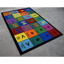 Area Rug Kids Room Play and Learn Carpet Learning Design Play Time Game Room Rugs (123- 005)…