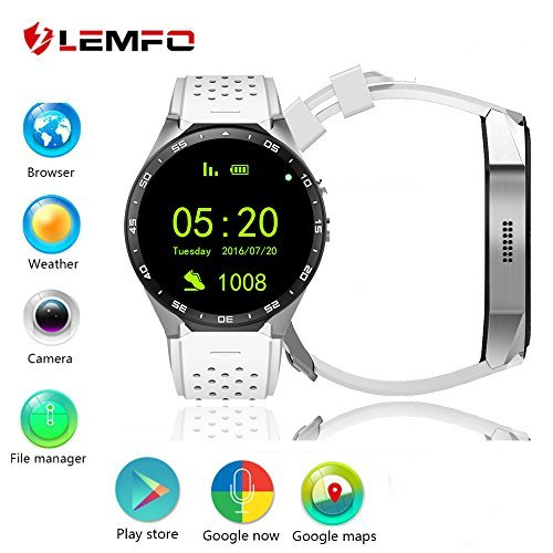 kingwear 139 inch smart watch with 3g quad core support 20mp camera - Allshopathome-Best Price Comparison Website,Compare Prices & Save