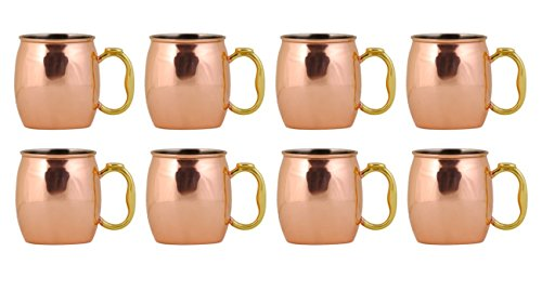 oggi moscow mule copper mug 20 ounce set of 8 - Allshopathome-Best Price Comparison Website,Compare Prices & Save
