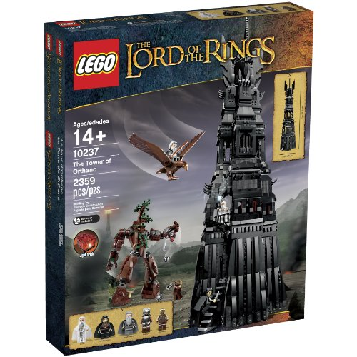 lego lord of the rings 10237 tower of orthanc building set discontinued by - Allshopathome-Best Price Comparison Website,Compare Prices & Save
