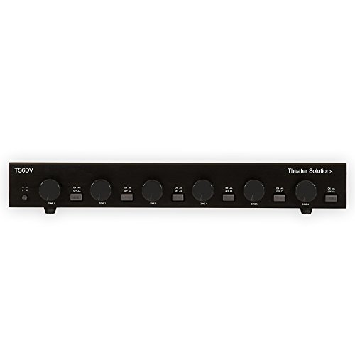 theater solutions ts6dv six zone dual source selector with volume controls - Allshopathome-Best Price Comparison Website,Compare Prices & Save