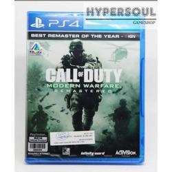 Ps4-g: Call Of Duty Modern Warfare Remastered (r3)(en)