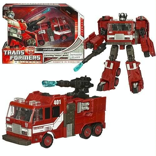 Transformers Universe Voyager Figure Inferno