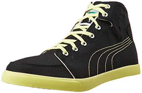 Puma Men's Drongos Idp Puma Black and Limelight Sneakers – 10 UK/India (44.5 EU)