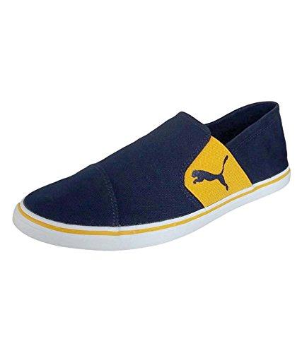 Puma Men's Elsu V2 Slip On Idp Grey Violet and Blue Danube Loafers and Moccasins – 10 UK/India (44.5 EU)