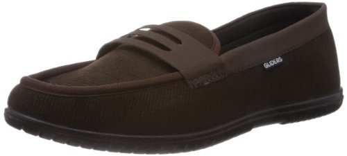 Gliders (from Liberty) Men's Brown Canvas Boat Shoe – 8 UK