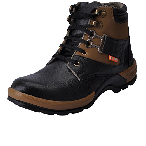 Fausto 3106-44 Black Men's Boots