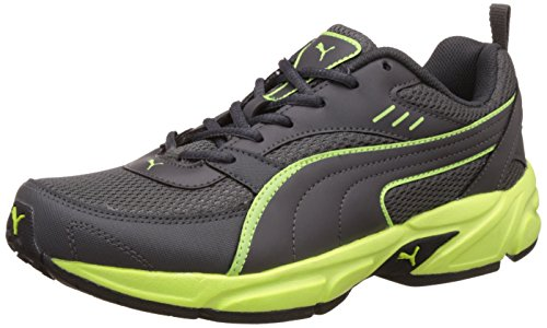 Puma Men's Atom Fashion III Dp Asphalt and Safety Yellow Running Shoes – 7 UK/India (40.5 EU)