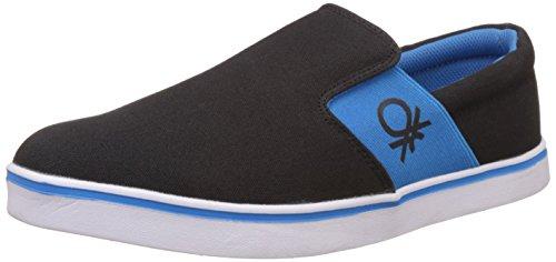 United Colors of Benetton Men's Black (902) Sneakers – 9 UK/India (43 EU)
