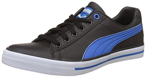 Puma Unisex's Salz III Dp Puma Black and French Blue Sneakers – 8 UK/India (42 EU)
