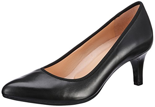 Naturalizer Women's Oath Black Leather Pumps – 5 UK/India (38 EU)(6546962)