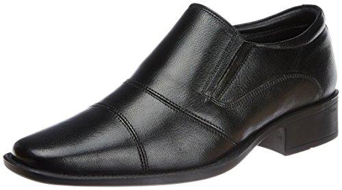 Hush Puppies Men's Hpo2 Flex Black Leather Formal Shoes – 9 UK/India (43 EU)(8546604)
