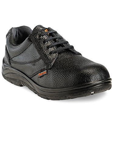 Agarson Steel Toe Black Men's Safety Shoes.