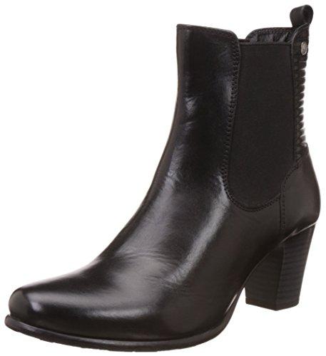 Hush Puppies Women's Karen Black Leather Boots – 5 UK/India (38 EU)(7046960)