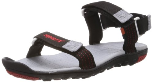 Sparx Men's Black Nylon Sandals and  Floaters  – 10 UK