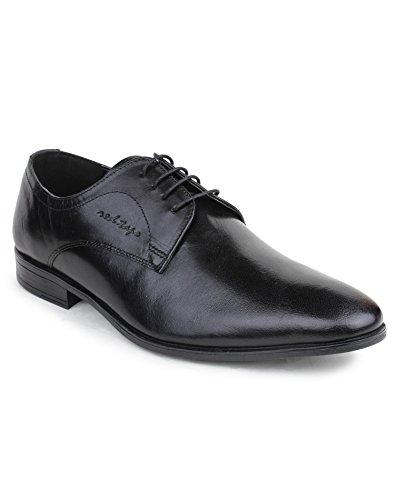 Red Tape Men's Derbys Black Leather Formal Shoes – 8 UK/India (42 EU)