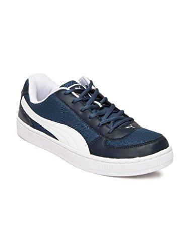 Puma Men's Contest Lite DP Blue and White Boat Shoes – 7 UK/India (40.5 EU)