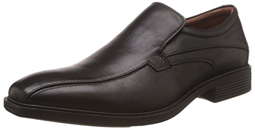 Hush Puppies Men's New Mentor Black Leather Formal Shoes – 10 UK/India (44 EU)(8546966)
