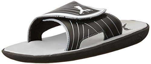 Puma Men's Bow Cat Idp Puma Black and Puma White Hawaii Thong Sandals – 10 UK/India (44.5 EU)