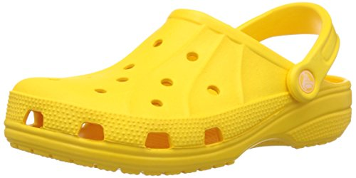 Crocs Unisex Ralen Clog Yellow Rubber Clogs and Mules – M4W6