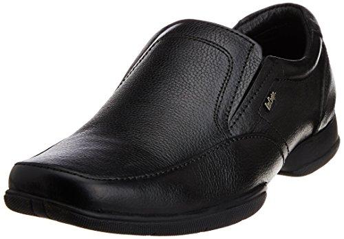 Lee Cooper Men's Black Leather Formal Shoes – 9UK/India (43 EU)