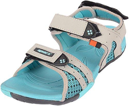 Sparx Women's Blue Mesh Floaters – 4 UK