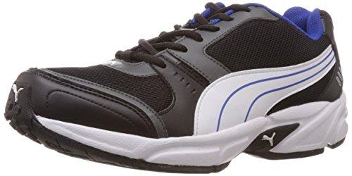 Puma Men's Argus DP Black, Dark shadow, White and Limoges Mesh Running Shoes – 9 UK/India (43 EU)