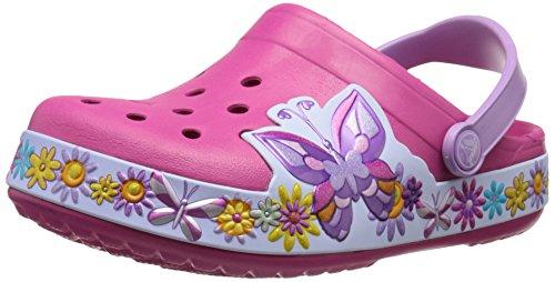 Crocs Crocband Butterfly Clog K Girls Slip on [Shoes]_202664-6X0-J3