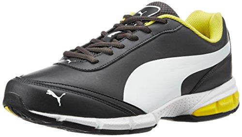 Puma Men's Roadstar Xt II Dp Periscope, White and Blazing Yellow Running Shoes – 6 UK/India (39 EU)
