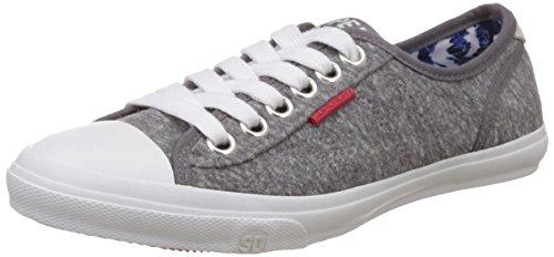 Superdry Women's Low Pro Grey Marl Sneakers – 7 UK/India (40 EU)