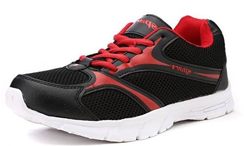 Sparx Women's Black and Red Running Shoes (Sl-510) (4 UK)