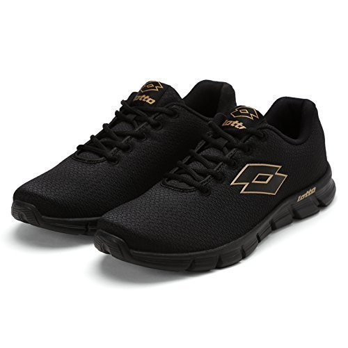 Lotto Men's Vertigo Black Running Shoes – 9 UK/India (43 EU)