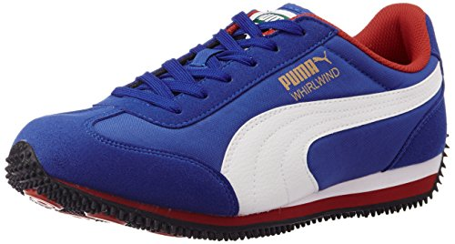 Puma Men's NepeanDP Dazzling Blue, White and Rose Red Sneakers – 10UK/India (44.5EU)