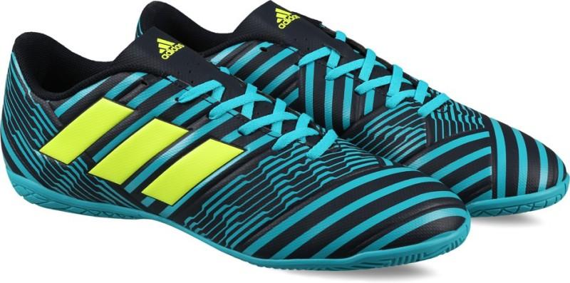 Adidas NEMEZIZ 17.4 IN Football Shoes(Blue)