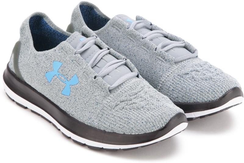 Under Armour SPEEDFORM SLINGRIDE Running Shoes(Blue, Grey)