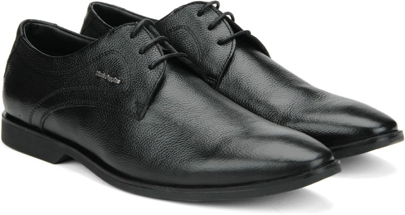 Hush Puppies DERBY Lace Up shoes(Black)