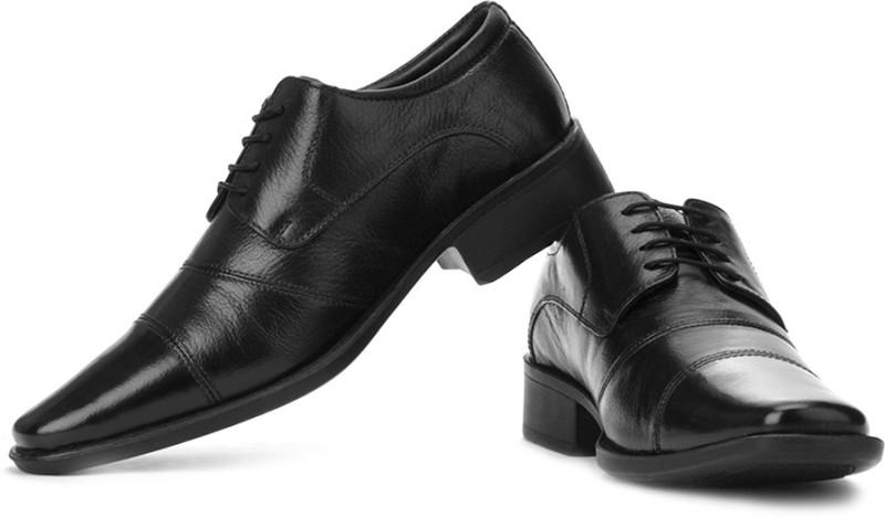 Hush Puppies Hpo2 Flex Lace Up Shoes(Brown, Black)