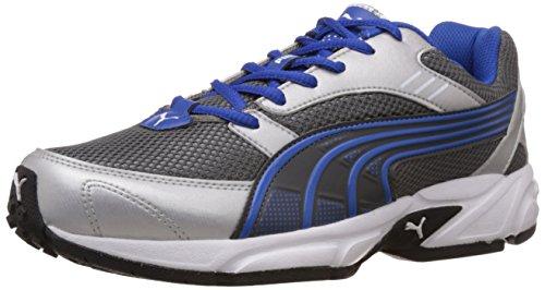Puma Men's Pluto DP Silver and Blue Running Shoes – 7 UK/India (40.5 EU)