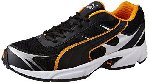 Puma Men's Carlos Ind Puma Black, Zinnia and Puma Silver Running Shoes – 9 UK/India (43 EU)