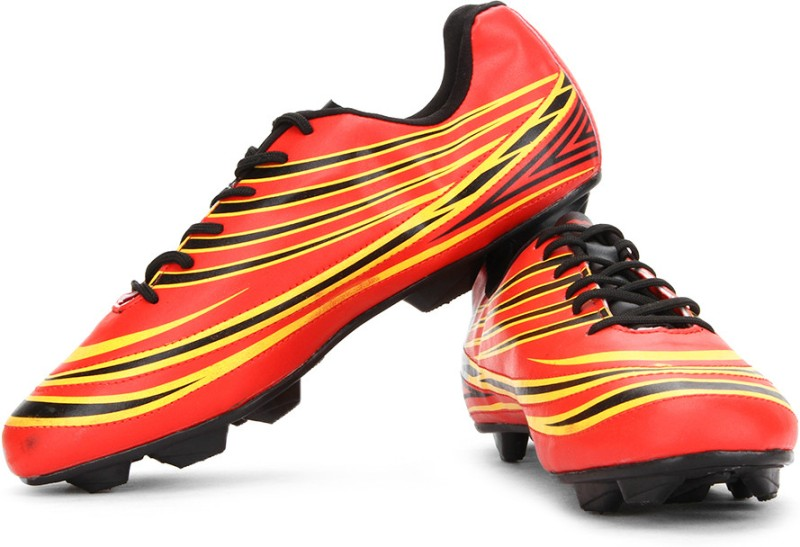 Nivia Premier Cleats Football Studs(Red)