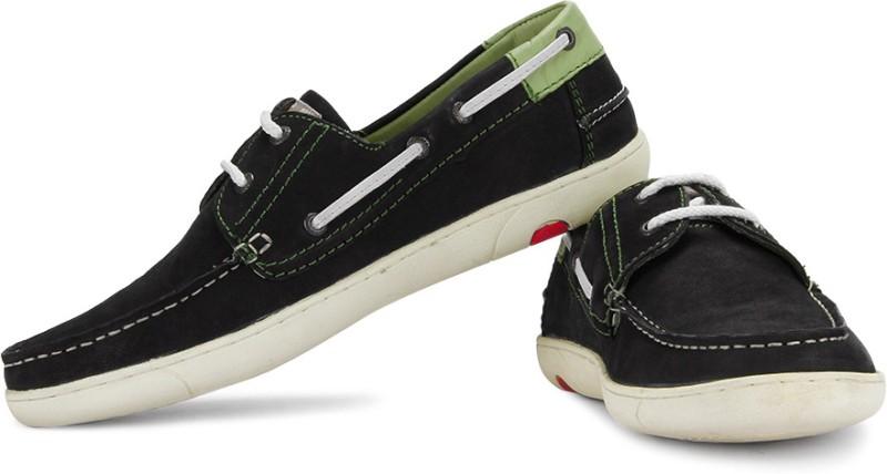 Lee Cooper Men Boat Shoes(Green, Navy)