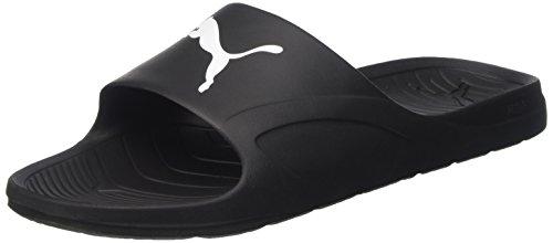 Puma Unisex Divecat Black and White Hawaii Thong Sandals – 6 UK/India (39 EU)