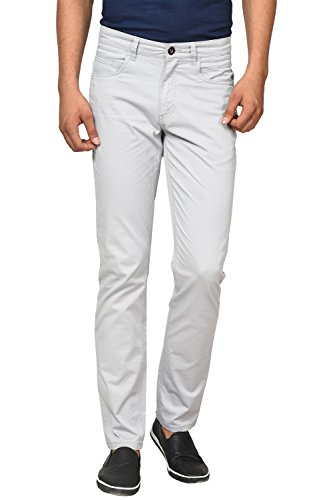 Urban Eagle by Pantaloons Men's Cotton Elastane Pants 205000005648010_ Size_38