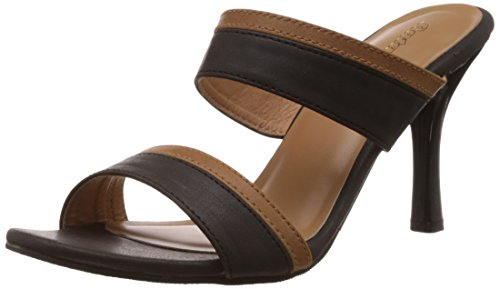 Bata Women's Gisele Black Fashion Sandals – 5 UK/India (38 EU) (7716136)