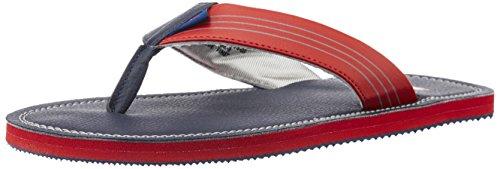 Puma Men's Ketava Duo DP Peacoat and High Risk Red Hawaii Thong Sandals – 9 UK/India (43 EU)