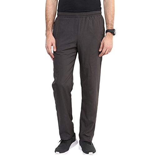 Ajile by Pantaloons Men's Polyester Track Pant_Dark Grey_Large
