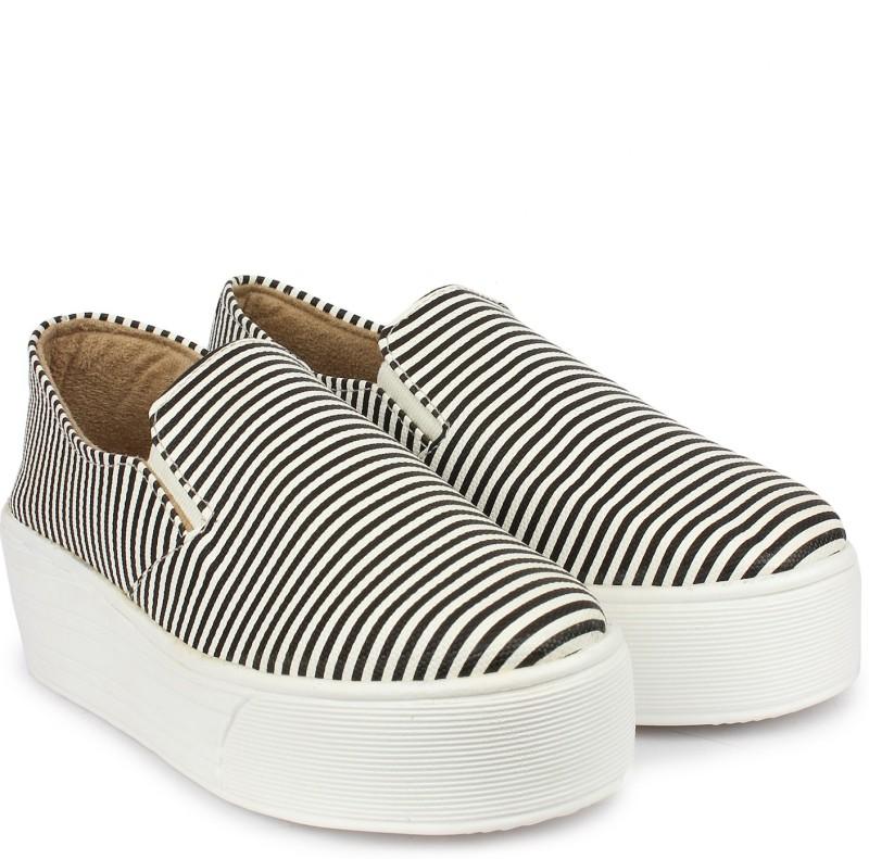 Do Bhai Canvas Shoes(Black)